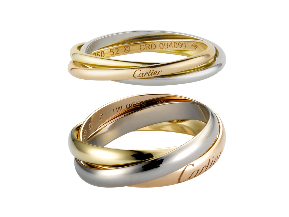 Wedding Ring Bands >> Cartier Trinity de Cartier 3-Gold Ring – BAGAHOLICBOY