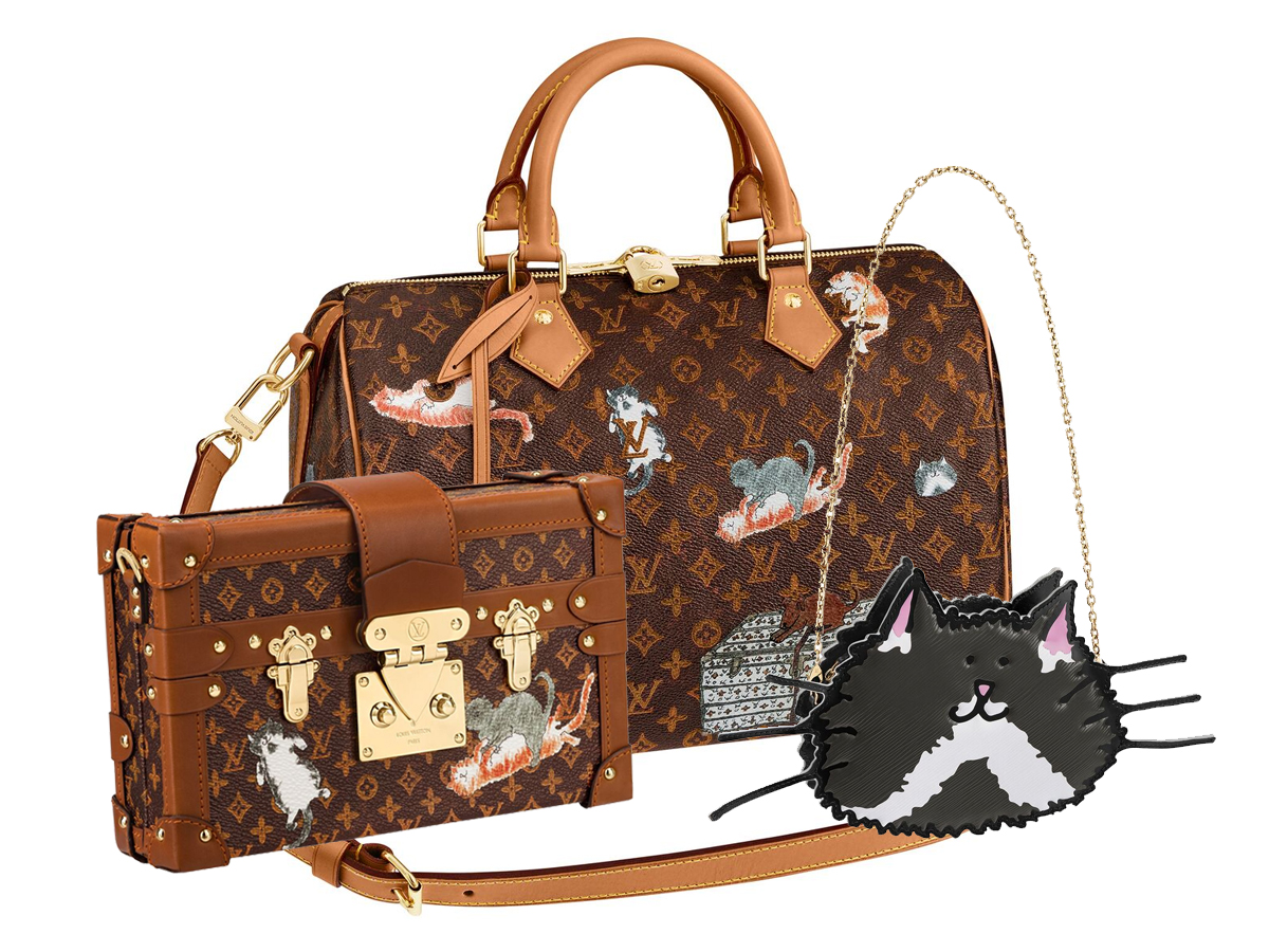 c13d0b85219a Louis Vuitton Cruise 2019 Catogram Neverfull   Speedy30 – BAGAHOLICBOY