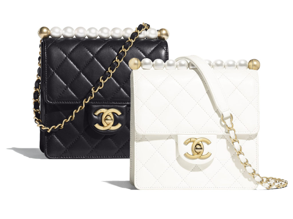 0daa6b0b5e63af Chanel S/S19 Flap Bag With Pearls – BAGAHOLICBOY